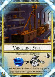 Synthesis Treasure<br />Vanishing Staff